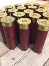 Load image into Gallery viewer, Maroon Red Federal Used Empty 12 Gauge Shotgun Shells Shotshells Spent Hulls Fired 12GA Casings