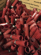 Load image into Gallery viewer, Red Federal Empty Shotgun Shells 12 Gauge Shotshells Spent 12GA Dark Red Hulls Cartridges Fired Used Casings Shot Gun Shells Qty 100 Pcs | FREE SHIPPING