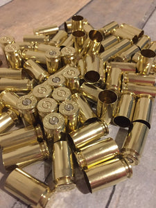Used Brass Shells 40 Smith Wesson
