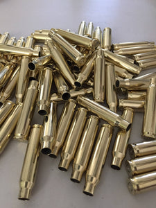 Brass 223 5.56 Empty Spent Bullet Casings Used Shells Fired Tumbled Cleaned Polished Qty 30 | FREE SHIPPING