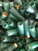 Load image into Gallery viewer, Remington American Clayfield Light Green Shotgun Shells Empty 12 Gauge Used Hulls Spent Shotshells 12 GA Ammo Cartridges DIY Wedding Boutonnieres Qty 10 | FREE SHIPPING