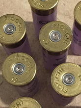 Load image into Gallery viewer, Purple Shotgun Shells Empty 12 Gauge Violet Lavender Spent Light Purple 12GA Hulls Once Fired Shot Gun Ammo Casings Used Cartridges 10 Pcs - FREE SHIPPING