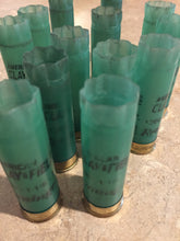 Load image into Gallery viewer, Light Green Shotgun Shells Empty 12 Gauge Remington Used Hulls