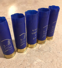 Load image into Gallery viewer, Blue Empty RIO Shotgun Shells 12 Gauge Shotshells Spent Hulls Cartridges Fired Casings Shot Gun Shells Qty 50 Pcs - FREE SHIPPING