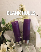 Load image into Gallery viewer, 18 Purple Empty Shotgun Shells Blank 12 Gauge No Markings On Hulls Spent Shotshells Once Fired Used Ammo Casings DIY Boutonniere Crafts