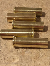 Load image into Gallery viewer, Empty Brass Shells 357 Magnum Spent Casings Ammo Used Cartridges Hand Polished Qty 5 Pcs - Free Shipping