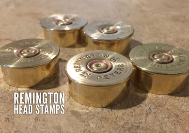 Remington Peters Steel Head Stamps 12 Gauge Bottoms