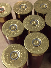 Load image into Gallery viewer, Empty Shotgun Shells 12GA Spent Burgundy 12 Gauge Maroon Shot Gun Hulls Ammo Fired Cartridge Dark Red Federal 200 Pcs - Free Shipping