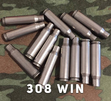 Load image into Gallery viewer, 308 WIN Winchester Empty Steel Shells