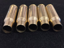 Load image into Gallery viewer, 308 WIN Brass Shells Bullet Casings Empty Spent Ammo Cleaned Hand Polished Used 7.62x51 DIY Bullet Jewelry Steampunk Bullet Necklace 5 Pcs - FREE SHIPPING