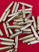 Load image into Gallery viewer, Brass 223 5.56 Empty Spent Bullet Casings Used Shells Fired Tumbled Cleaned Polished Qty 30 | FREE SHIPPING