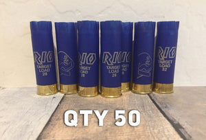 Blue Rio Shotgun Shells 12 Gauge 12GA Hulls
