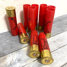 Load image into Gallery viewer, 16 Gauge Red Empty Used Shotgun Shells Winchester Hulls Fired Spent Cartridges Shot Gun Casings