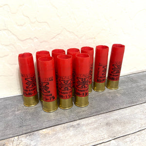 16 Gauge Red Empty Used Shotgun Shells Winchester Hulls Fired Spent Cartridges