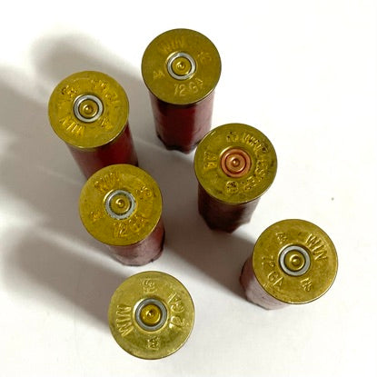 Winchester Gold Head Stamps 12 Gauge Bottoms Shotgun Shells Headstamps 100 Pcs - FREE SHIPPING