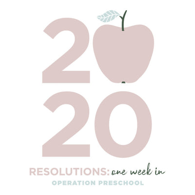 RESOLUTIONS: ONE WEEK IN