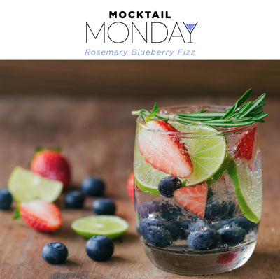 MOCKTAIL MONDAY: FEEL THE BLUE…BERRIES