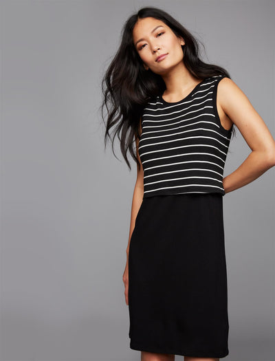 Black/White Stripe / L|Black/White Stripe / M|Black/White Stripe / S|Black/White Stripe / XS