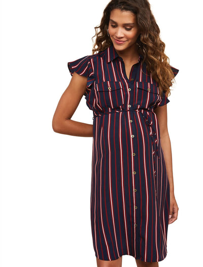 Navy Stripe / L|Navy Stripe / M|Navy Stripe / S|Navy Stripe / XL|Navy Stripe / XS