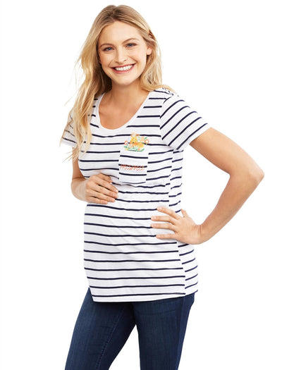 Navy/White Stripe / XS|Navy/White Stripe / XL|Navy/White Stripe / S|Navy/White Stripe / M|Navy/White Stripe / L
