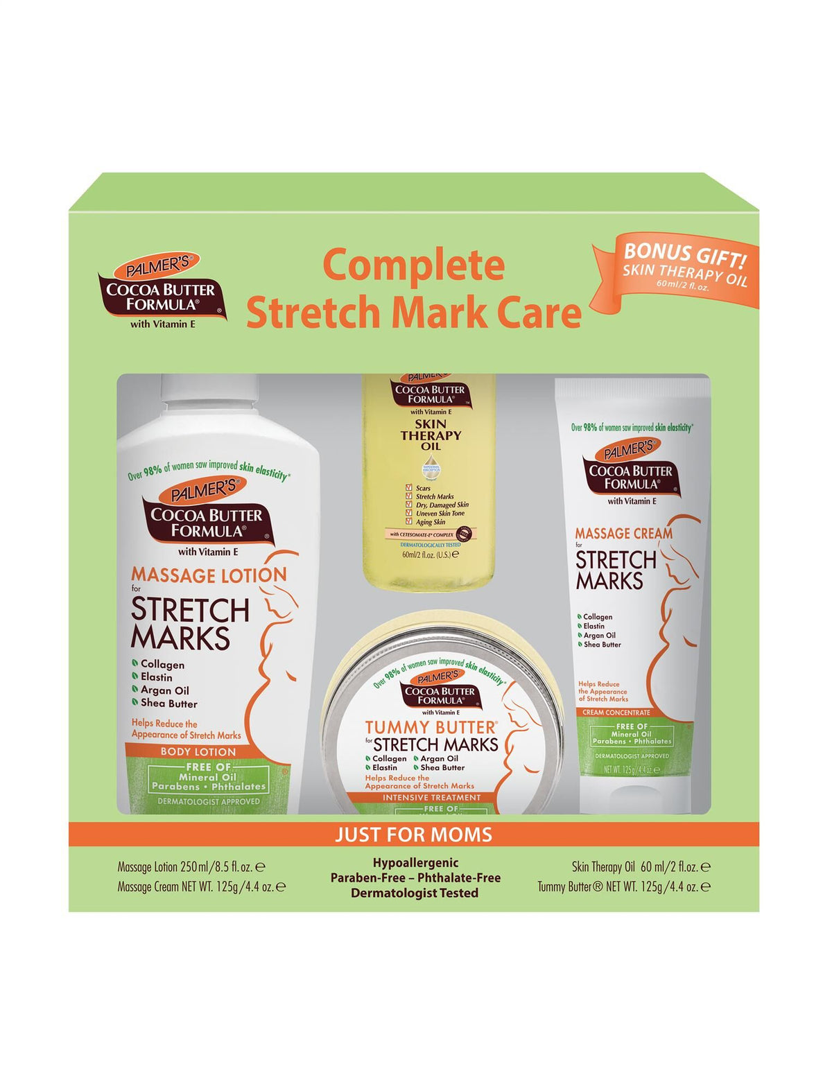 Palmer S Complete Stretch Mark Care 4 Piece Gift Set Motherhood