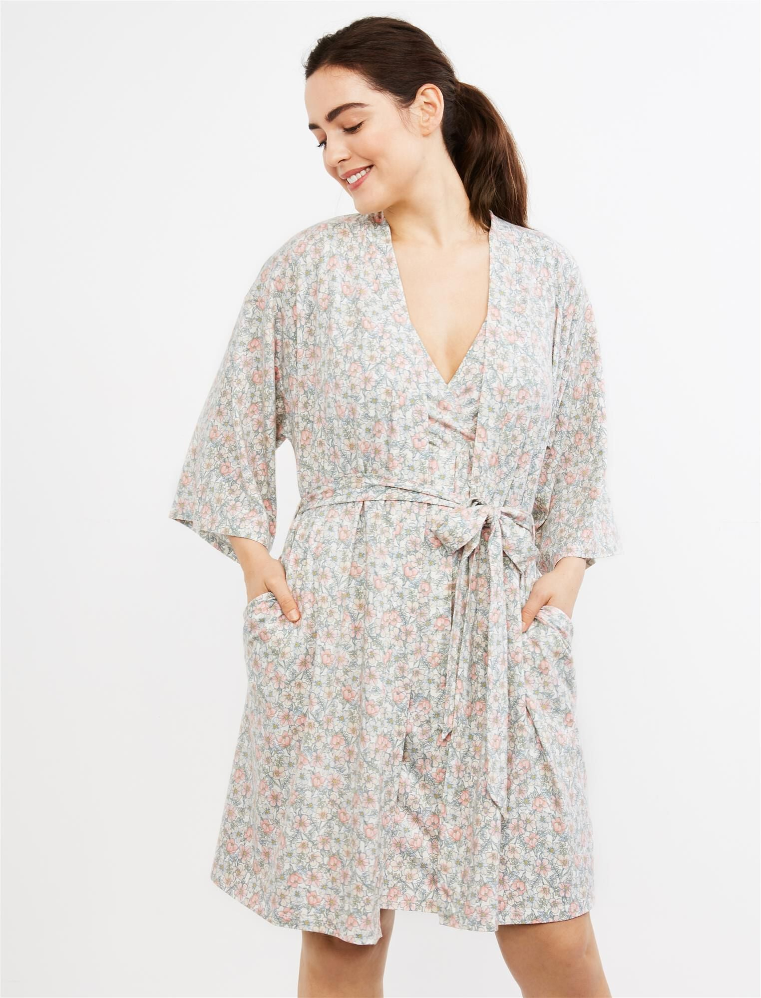 Maternity And Labor Delivery Robe Motherhood Maternity