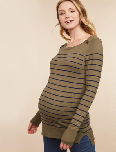 Olive Navy Stripe / XS|Olive Navy Stripe / XL|Olive Navy Stripe / S|Olive Navy Stripe / M|Olive Navy Stripe / L