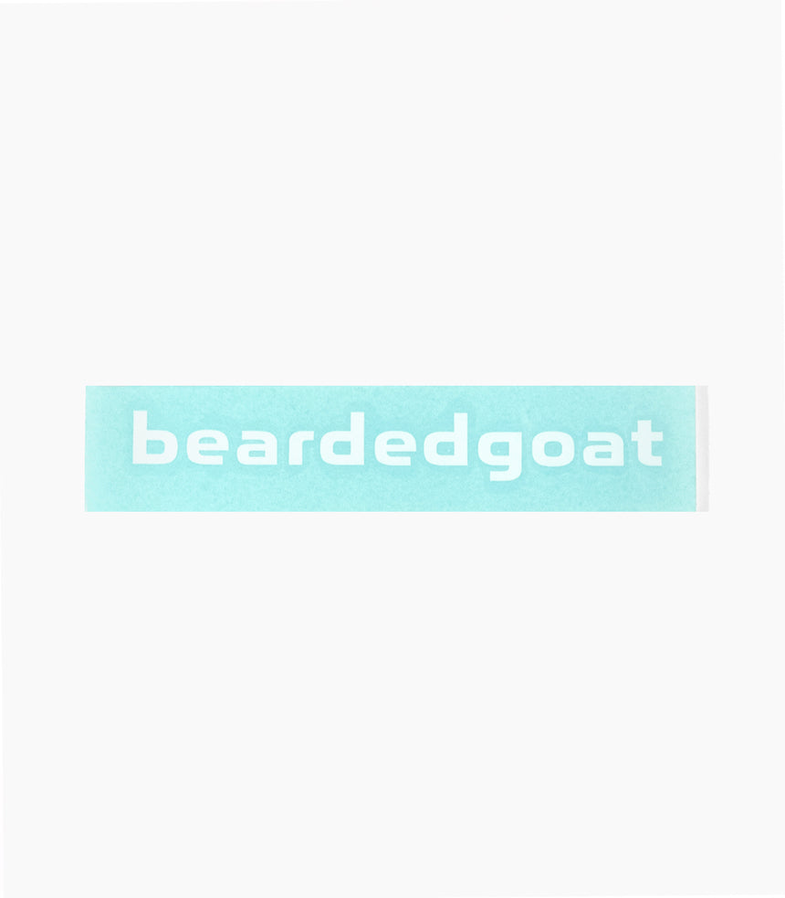 beardedgoat decal