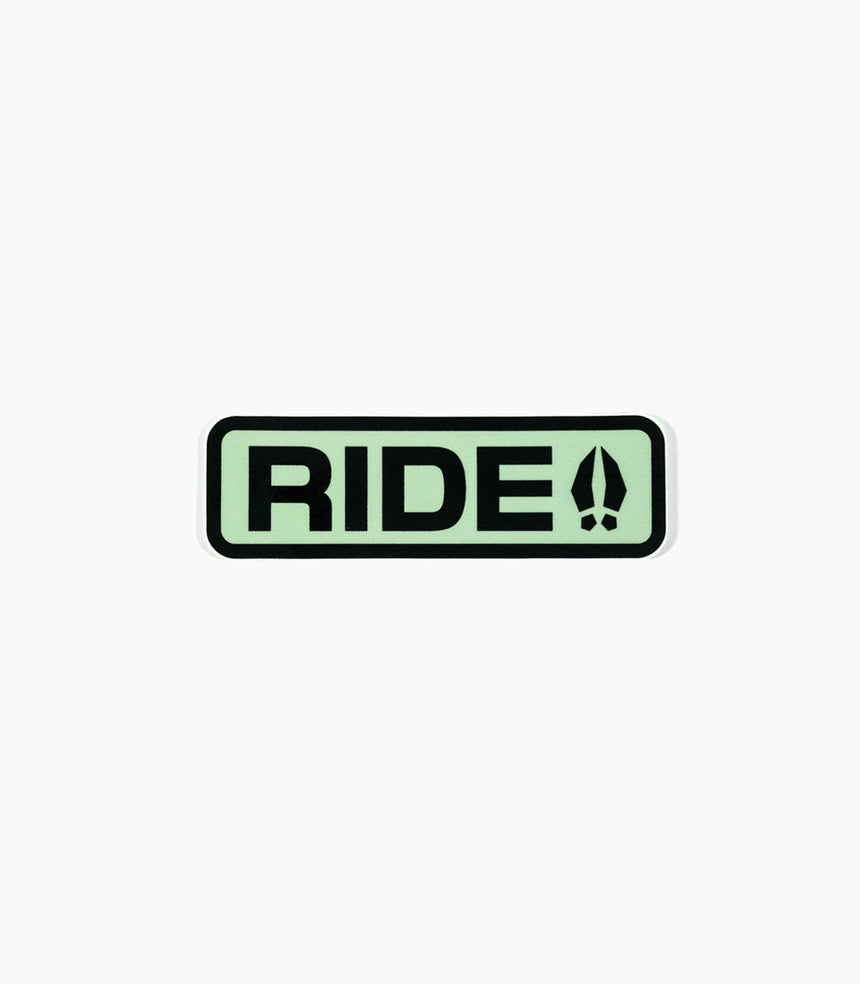RIDE Sticker
