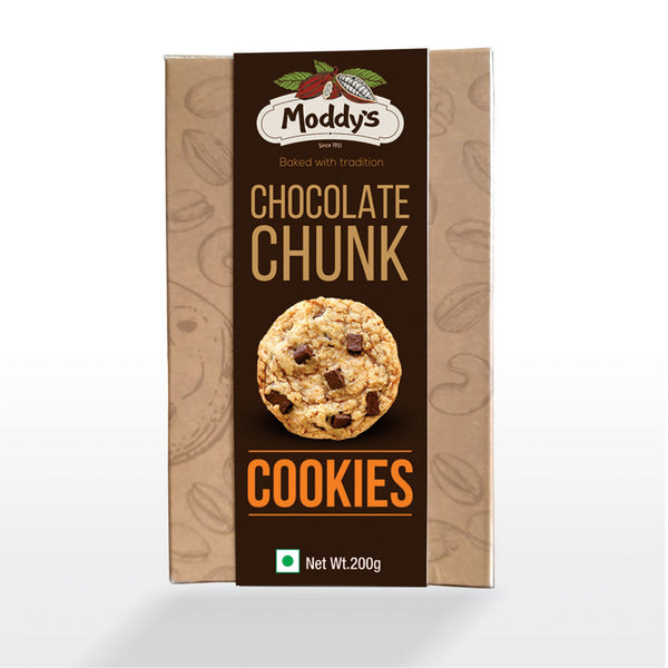 Moddy's Chocolate Chunk Cookies 200gms