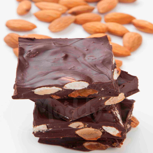 DARK ALMOND CHOCOLATE**