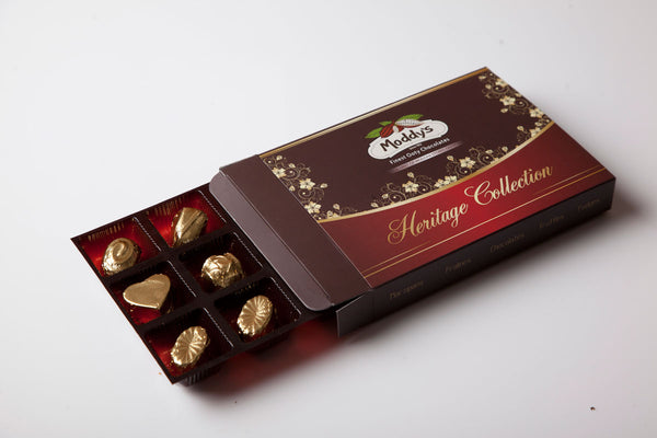 Moddys 12 Heritage Collection truffle box