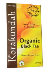 Korakundah Organic Black tea with Flowery Orange Pekoe