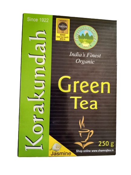 Korakundah Organic Green Tea High grown premium tea - Jasmine flavour