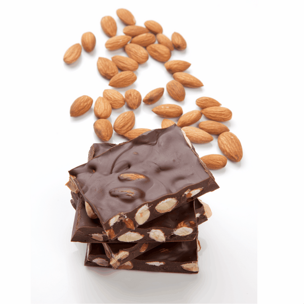 ROASTED ALMOND CHOCOLATE**