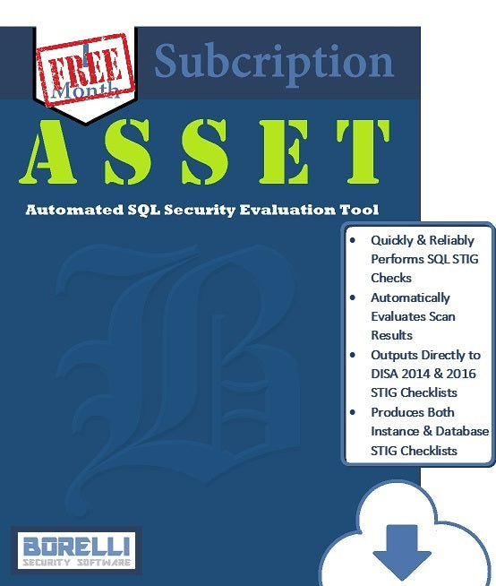 ASSET - Automated SQL Security Evaluation Tool (FREE 10% Evaluation Version)