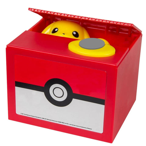 Tirelire Pokemon Pikachu voleur