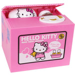 Tirelire Hello Kitty voleuse