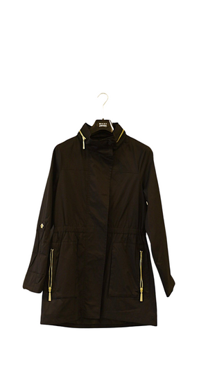 Ladies Rain Coat Quinn-Black