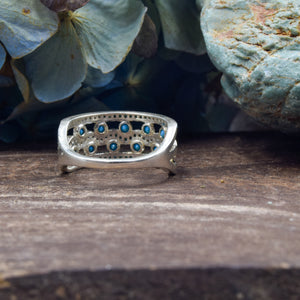 Turquoise Ring | Sterling Silver 925 | SIZE 6.5 | Band Ring