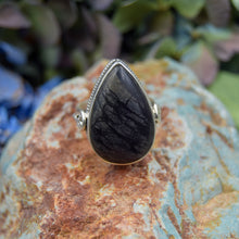 Load image into Gallery viewer, Picasso Jasper Ring | Sterling Silver 925 | SIZE 7 | Natural Picasso Jasper Gemstone Ring | Handmade Ring | Gemstone Jewelry