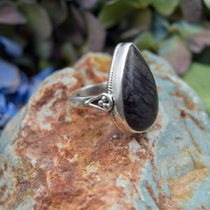 Picasso Jasper Ring | Sterling Silver 925 | SIZE 7 | Natural Picasso Jasper Gemstone Ring | Handmade Ring | Gemstone Jewelry