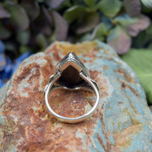 Pyrite Ring | Sterling Silver 925 | SIZE 6.5 | Natural Pyrite Gemstone Ring | Beautiful Gemstone Ring | Gemstone Jewelry