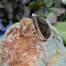 Load image into Gallery viewer, Picasso Jasper Ring | Sterling Silver 925 | SIZE 7.5 | Natural Gemstone Jewelry