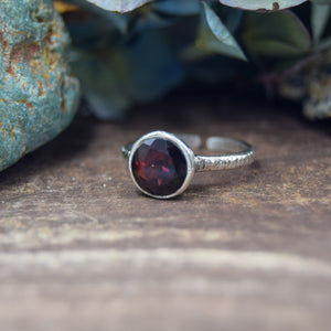 Adjustable Rings | Sterling Silver AAA Gemstone Rings