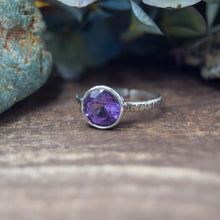 Load image into Gallery viewer, Adjustable Rings | Sterling Silver AAA Gemstone Rings