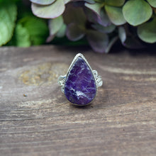 Load image into Gallery viewer, Amethyst Ring | Sterling Silver 925 | SIZE 9 | Natural Amethyst Gemstone Ring | Metaphysical Jewelry | Gemstone Jewelry