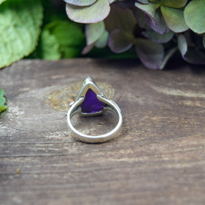 Amethyst Ring | Sterling Silver 925 | SIZE 7 | Natural Amethyst Gemstone Ring | Gift For Her | Gemstone Jewelry