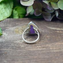 Load image into Gallery viewer, Amethyst Ring | Sterling Silver 925 | SIZE 7.5 | Natural Amethyst Gemstone Ring | Gift For Her | Gemstone Jewelry