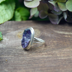 Amethyst Ring | Sterling Silver 925 | SIZE 7 | Natural Amethyst Gemstone Ring | Oval Ring | Gemstone Jewelry